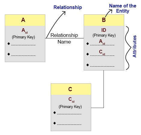 Structure of logical data model