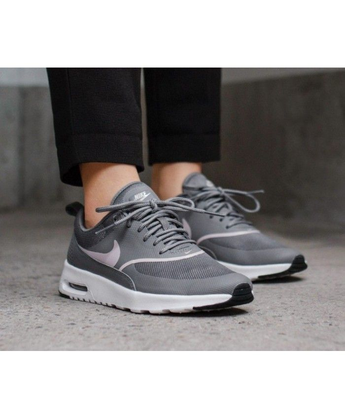 Nike Air Max Thea Gunsmoke Rose Black | Nike air max