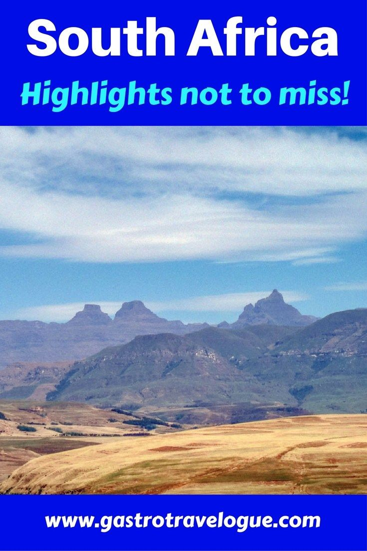 South #Africa the ultimate #highlights not to miss- www.gastrotravelogue.com