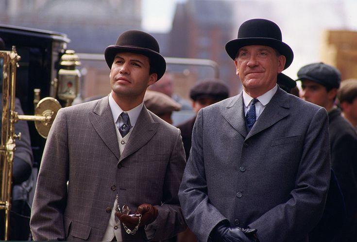 David Warner and Billy Zane in Titanic (1997)
