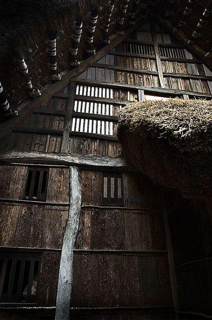 Japanese old farmhouse