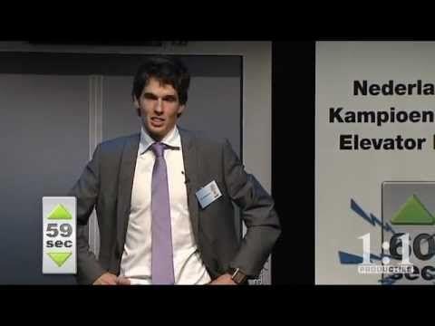 NK Elevator Pitch 2011- Tiemen Storm