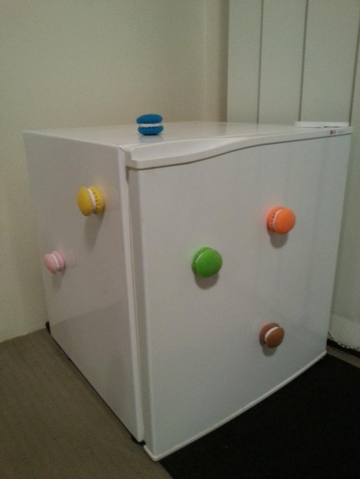 Felt Magnetic Macarons (zero calories)