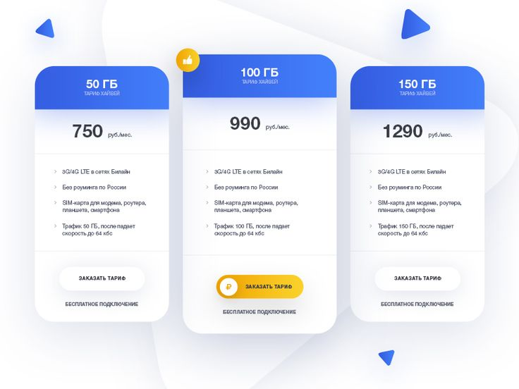 Price for landing page