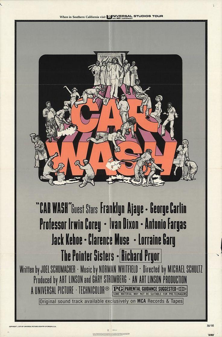 """Car Wash 1976 Authentic 27"""" x 41"""" Original Movie Poster"""