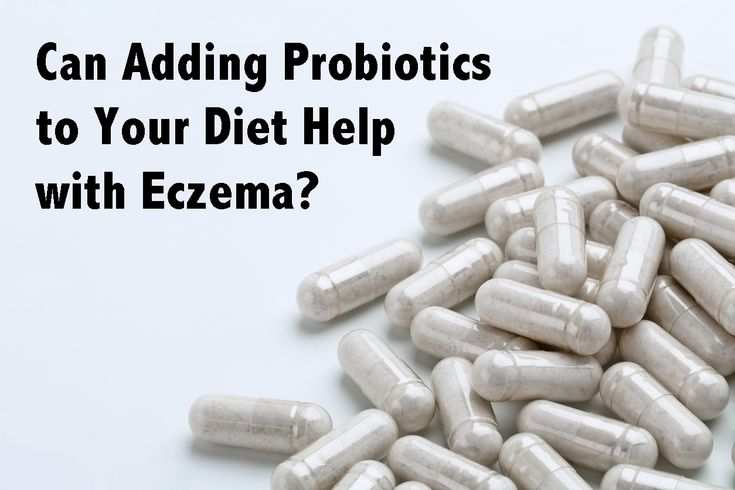 Probiotics have been gaining some spotlight lately as a possible method of better managing eczema symptoms through diet.