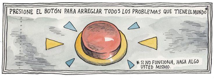 Viñeta de Ricardo Siri Liniers