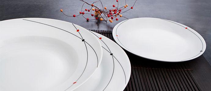 ¿Cuál de estas #vajillas de #porcelana quedaría mejor en tu mesa?