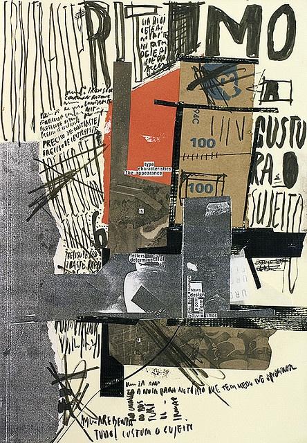 EXP_2008. Handmade collage + lettering. Artwork by Ricardo Donato.  absolutely love..