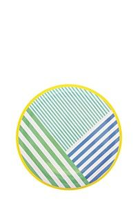 GRAPHIC PASTEL DINNER PLATE