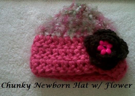 Free Crochet Pattern For Chunky Baby Hat : Free Pattern: Chunky Newborn Hat Crochet Pinterest