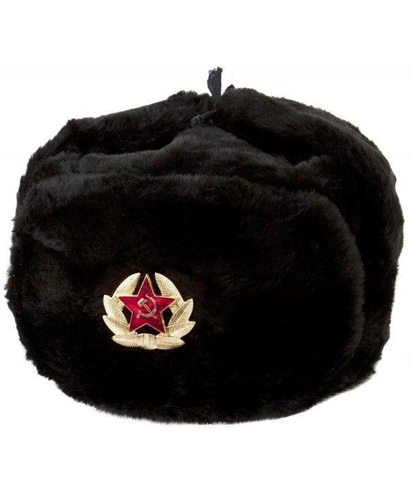 Hat Russian Soviet Army KGB * Fur Military Cossack Ushanka