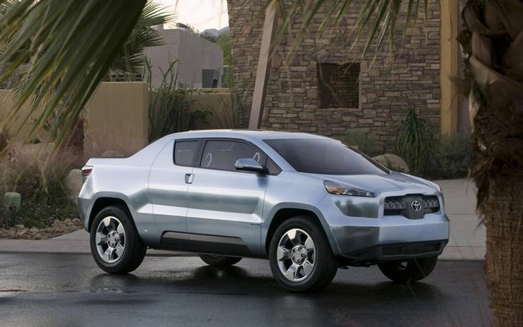 Best and Worst Truck Concepts That Were Never Built...  Toyota A-BAT      Take a look at the 2016 Toyota Tacoma and Tundra, and it's hard to imagine that the automaker used to produce small trucks. The A-BAT concept truck, however, hinted that Toyota was pondering the return of a truly small truck in its lineup. Although the concept featured a hybrid powertrain, an A-BAT with a simple four-cylinder would be a winning combination for a small and basic truck.