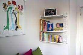 Bildresultat för stringhylla barnrum