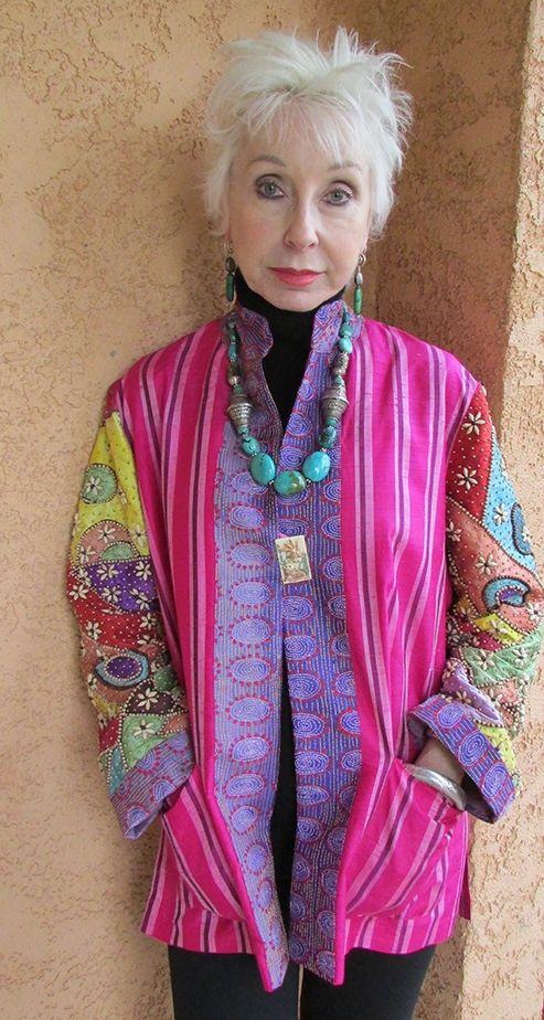 Miro jacket, Gretchen Schields necklace