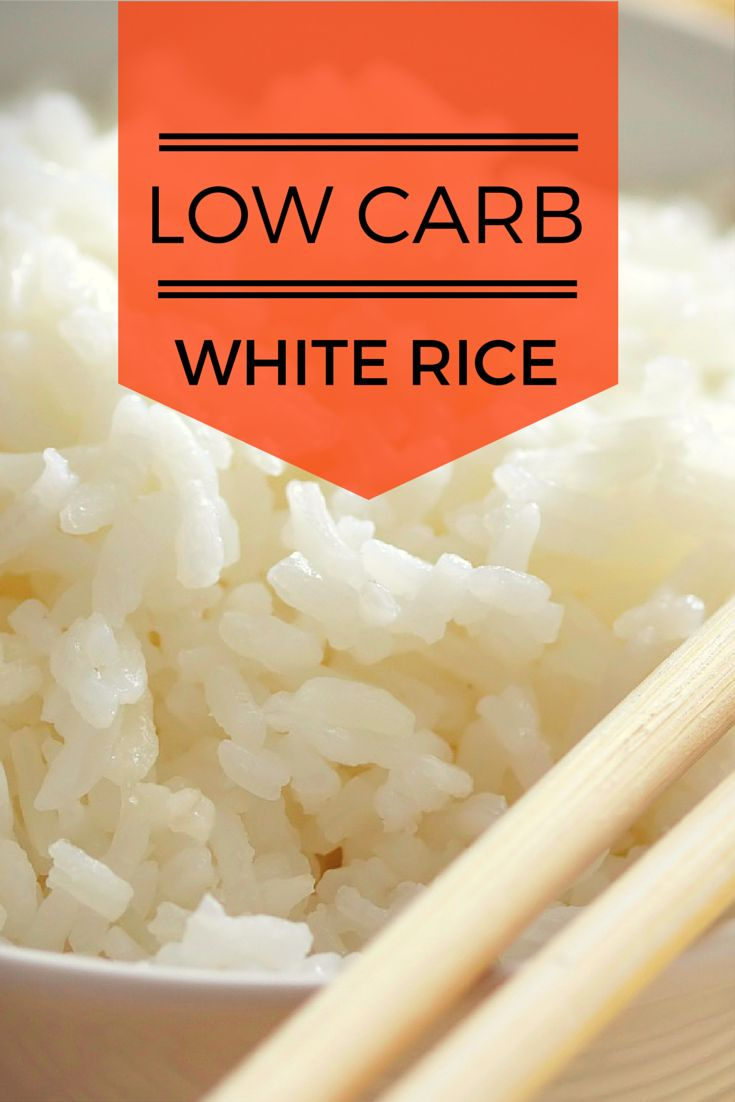 Lower the carbs in your carbs? Yes, you can! This #recipe is a super simple technique to make low-carb white rice with a secret ingredient: coconut oil! #keto #healthy #diet