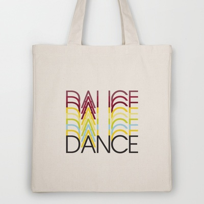 Dance Tote Bag by Ornaart - $18.00: Dance Totes, Totes Bags, Quality Totes, Tote Bags