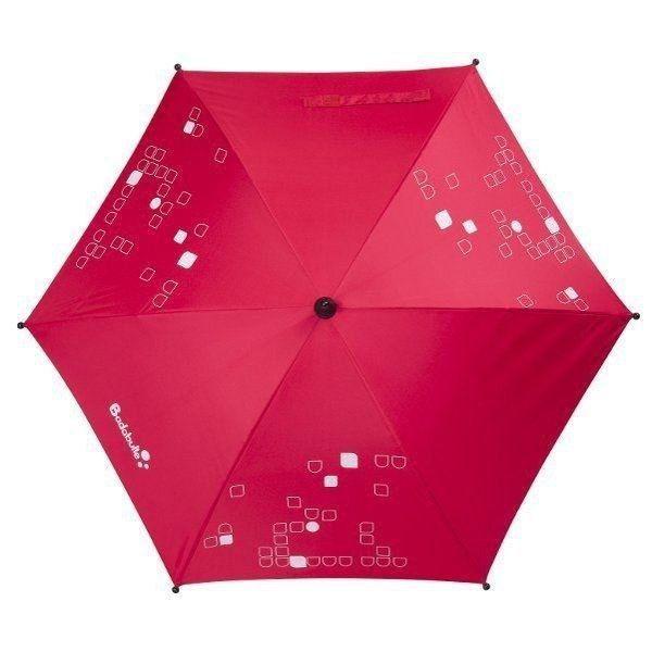 Protection maximum: fixation universelle. #ombrellerouge #ombrelle #accessoirepoussette #protectionpoussette #poussette