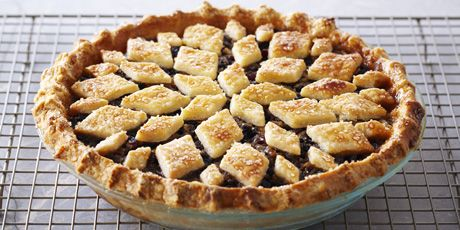 Mincemeat Pie by Anna Olson. My father in law loves mincemeat pie, this might be the recipe to use!