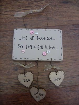 country style plaque - for a special friend :)