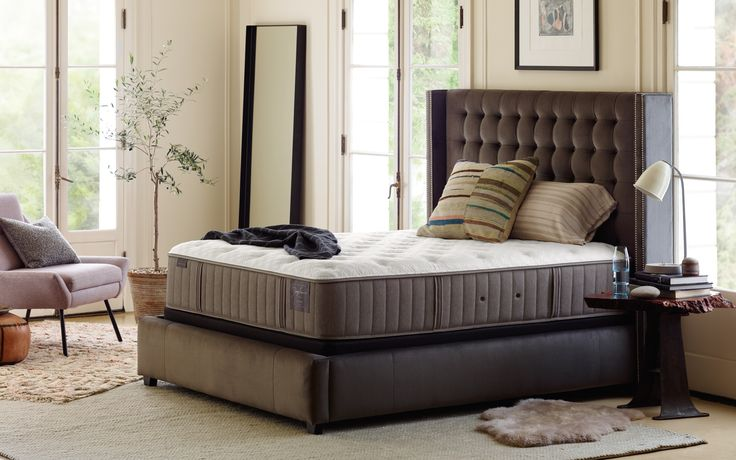 Scarborough Luxury Plush Full Mattress Set by Stearns & Foster at Crowley Furniture in Liberty, Lee's Summit and Overland Park.