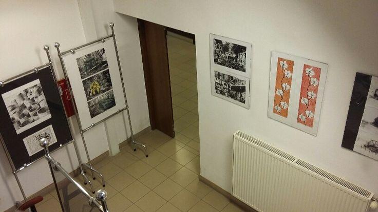 """Wystawa prac plastycznych Marii Morawskiej """"Z pasji do rysowania"""""""