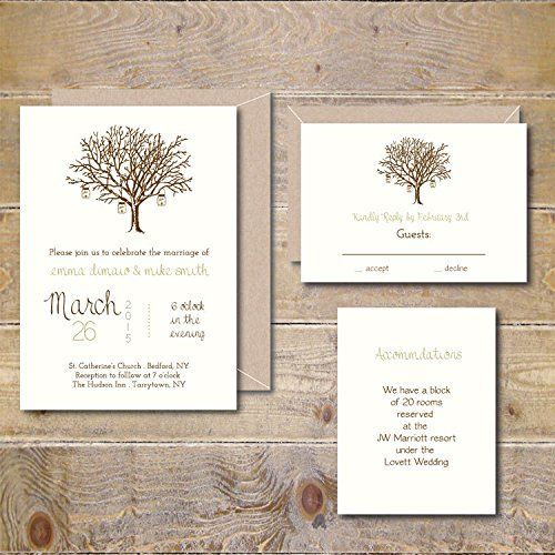 30 Our Absolutely Favorite Rustic Wedding Invitations - Page 3 of 3 - Deer Pearl Flowers