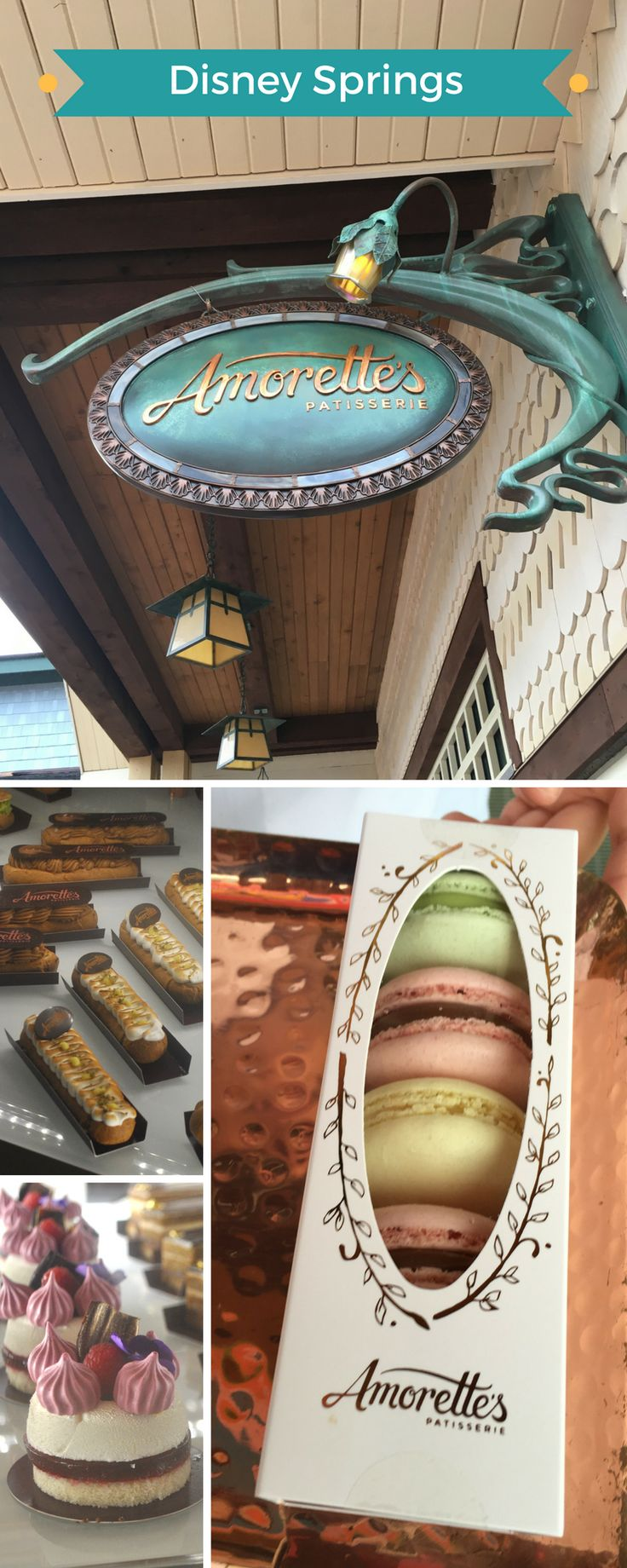 A must stop at Disney Springs! Amorette's Patisserie!