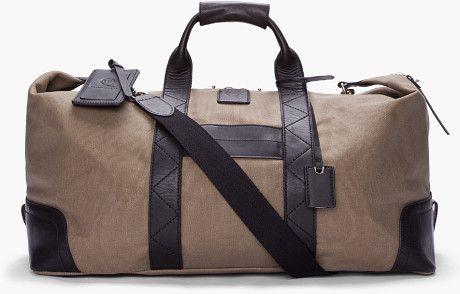 Canvas Weekender Bag - Lyst