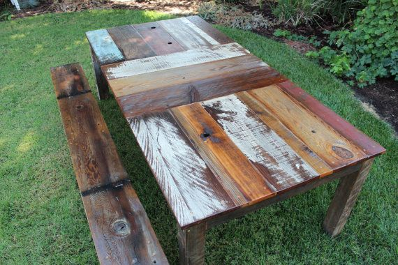 Reclaimed Wood Kitchen Table By BindleStickFurniture On Etsy