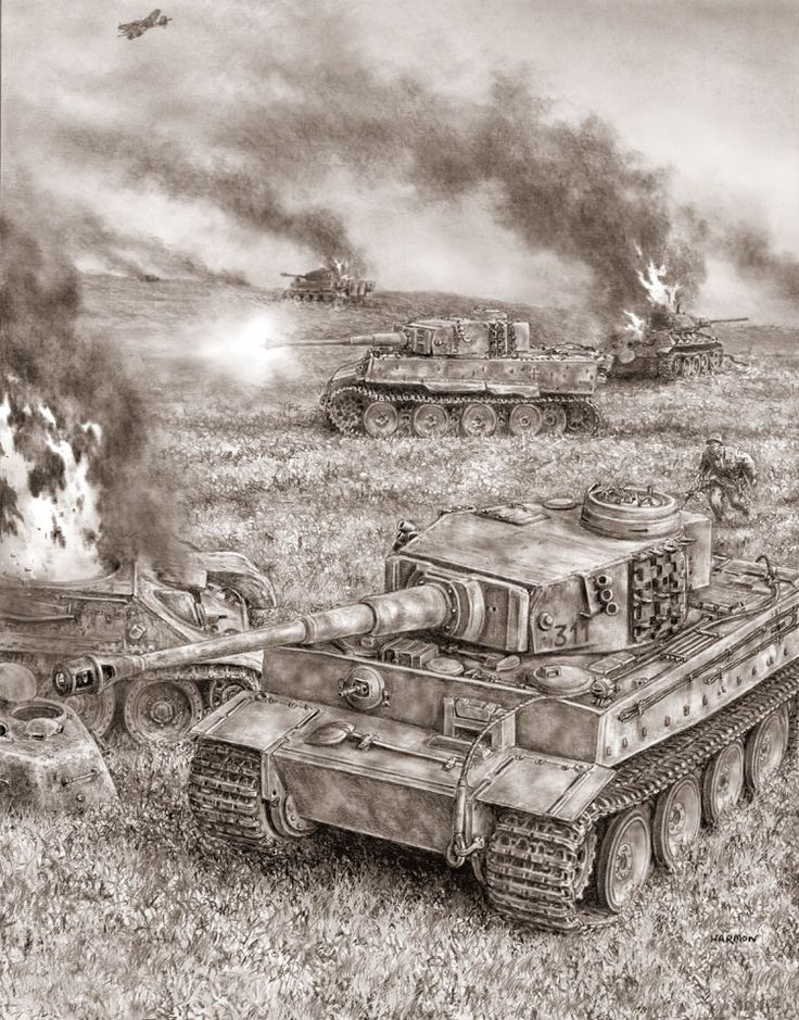 91 best michael wittman images on pinterest ww2 tanks tiger drawing of german tiger tanks sciox Image collections