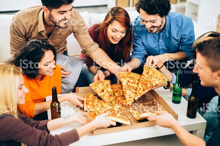 Pizza time royalty-free stock photo