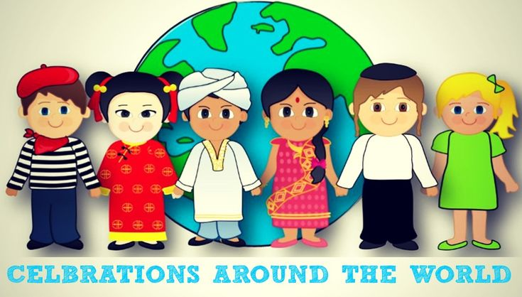 Celebrations Around the World:  this site has a variety of resources that can be used to teach children about the celebrations that are important to different parts of the world and different cultures....