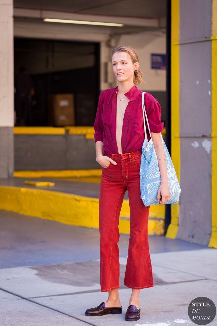 Emma Oak Street Style Street Fashion Streetsnaps by STYLEDUMONDE Street Style Fashion Photography