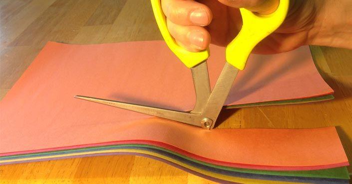 Po tisícoch rokov, konečne niekto vymyslel lepšie nožnice! Znovuvynájdené nožnice Right Shears. Nápad, vynález, inovácia, invencia, objav nožníc,