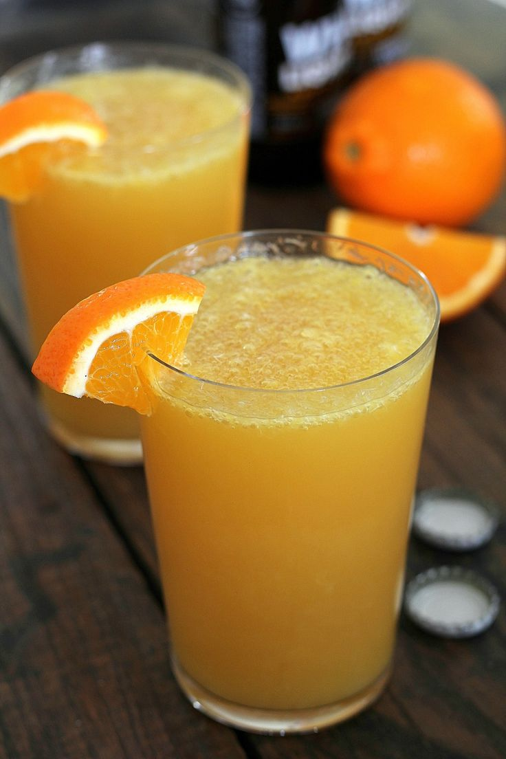 Beermosa - top it off with #Sauza Blue for an extra kick! #football #tailgate