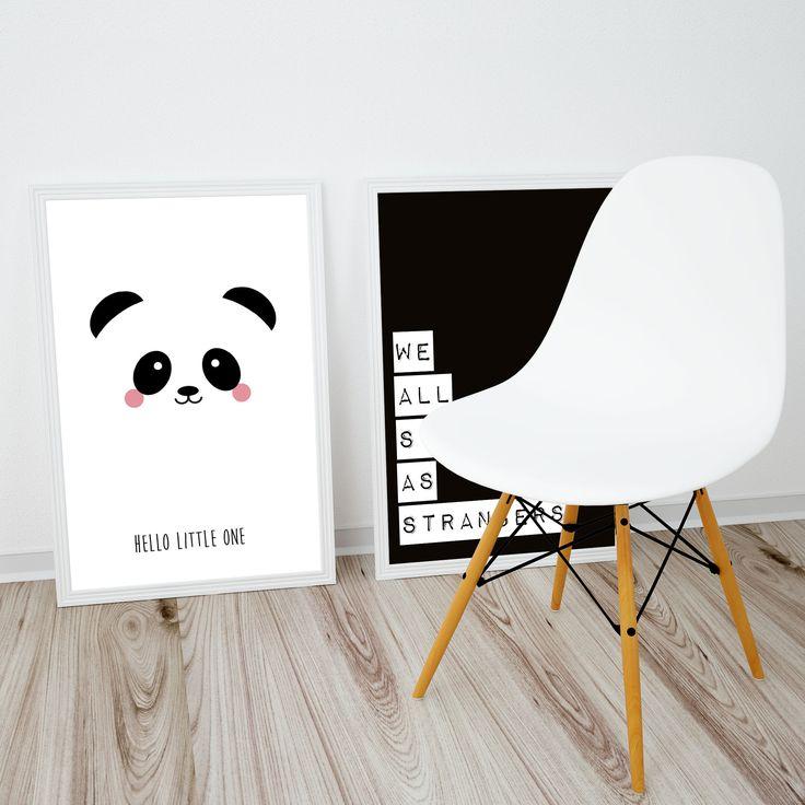 Poster panda Poster pandastaat in elke hippe kinderkamer voor een meisje of een jongen. Ook leuk om kado te doen of om zelf te gebruiken! Zo creëer je een nieuw...