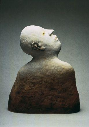 Profile, stoneware, 62 x 52 cm, 1994