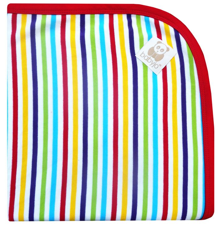 This 100% organic cotton baby wrap/blanket is bright, soft and luxurious. Gentle and safe for your baby's skin, its generous sizing also makes this blanket the perfect swaddle, cot blanket, or pram throw.