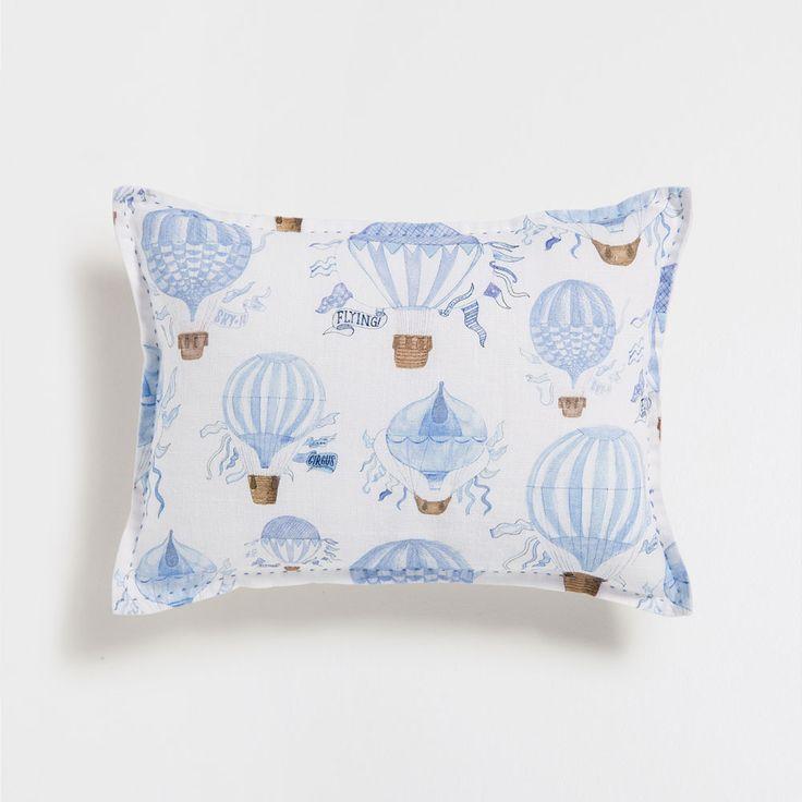 Zara home kids top stitch print cushion zara next h m - Zara home ropa de cama ...