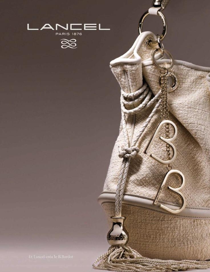 "French brand bag Lancel  for collection ""Brigitte Bardot"""
