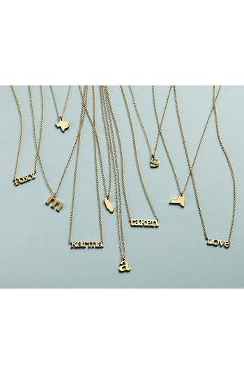 Dogeared 'State of Mind - Texas' Pendant Necklace | Nordstrom