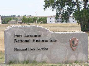 Fort Laramie, Wyoming.