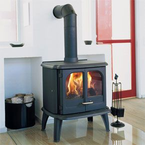 Morso Traditional Stoves - 3610 Radiant Ribbed Sides - The Morsø 3610 is one of the largest Morsø stove producing a nominal 10 kw output. A beautifully designed stove with clean lines, the Morsø 3610 radiant stove is ideal for rooms with cathedral ceilings that require a radiant heater for effective and efficient heating. In addition, this stove's large double doors make it perfect for heating large rooms.