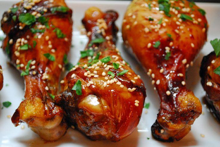 SUB asian chicken drumstick recipe mell dech