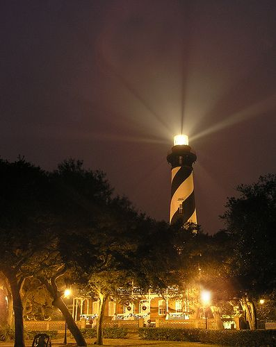 One of the treasures and most beautiful settings in North Florida. The St Augustine Lighthouse.