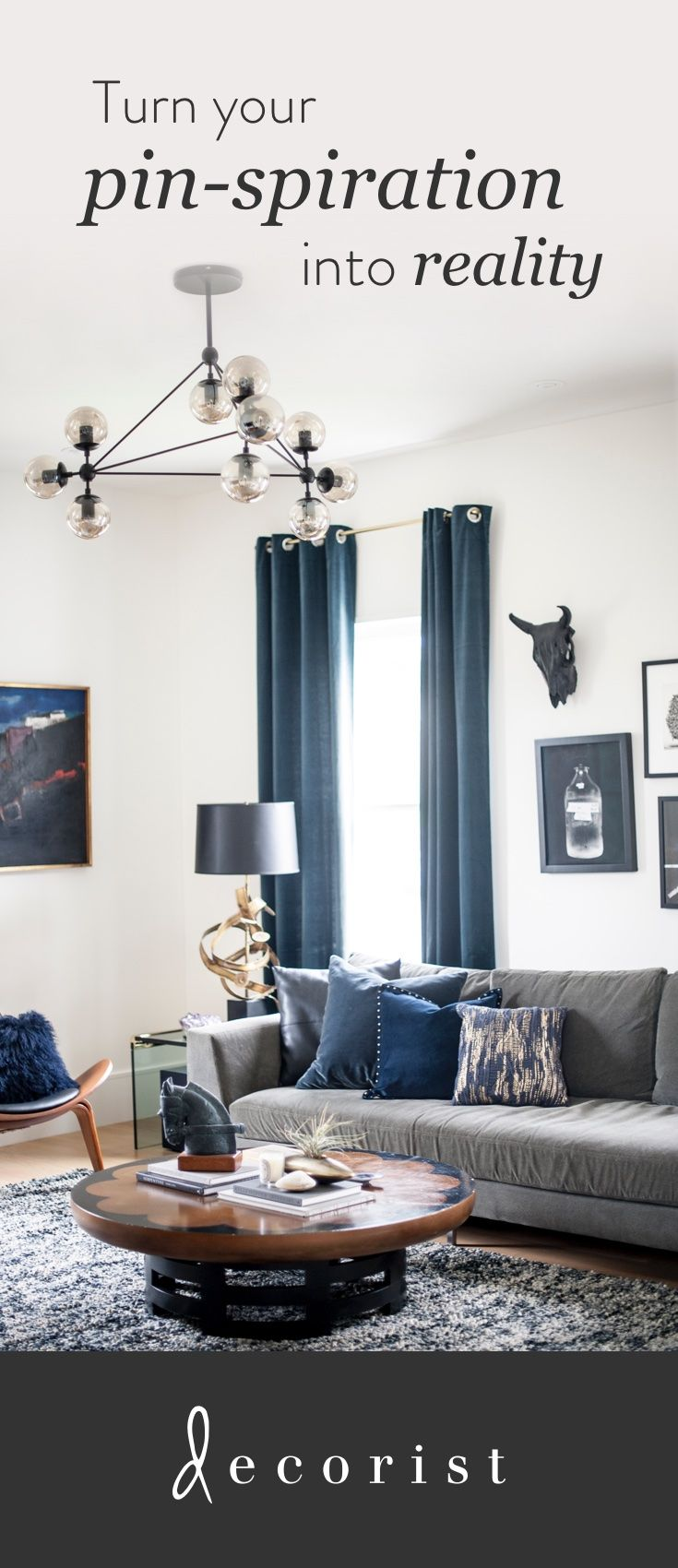 Is your home as beautiful as your Pinterest boards? Do you have tons of home decor pins but don't know how to turn your ideas into reality? @decorist can help. Design your room in your style and budget right from your Pinterest page.