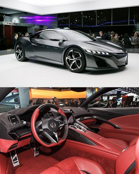 Acura NSX (Detroit Auto Show)