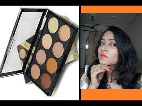 Kiss Beauty  3 in 1 Contour Palette Review in Hindi ! Indian Life style ...
