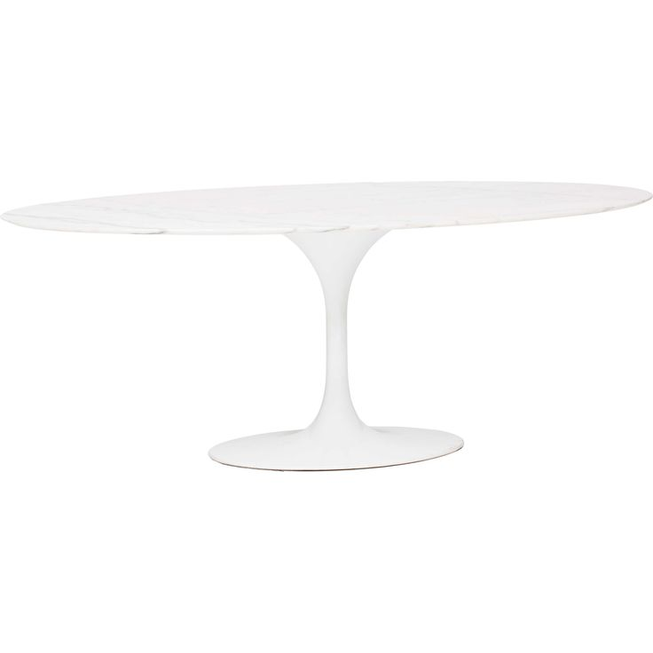 highfashionhome.com Echo Dining Table, White Marble - Dining Tables - Dining - Furniture